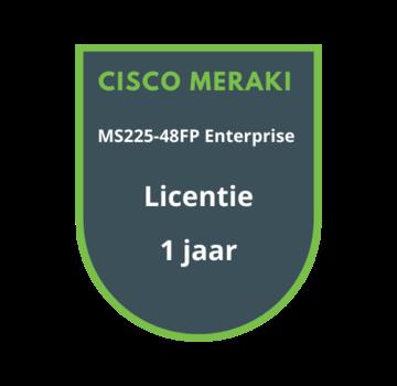 Cisco Meraki Cisco Meraki MS225-48FP Enterprise Licentie 1 jaar