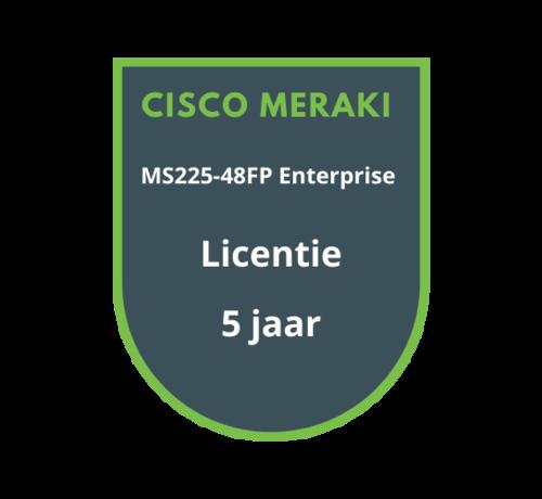 Cisco Meraki Cisco Meraki MS225-48FP Enterprise Licentie 5 jaar