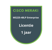 Cisco Meraki Cisco Meraki MS225-48LP Enterprise Licentie 1 jaar
