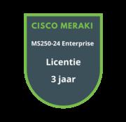 Cisco Meraki Cisco Meraki MS250-24 Enterprise Licentie 3 jaar