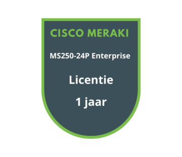 Cisco Meraki Cisco Meraki MS250-24P Enterprise Licentie 1 jaar