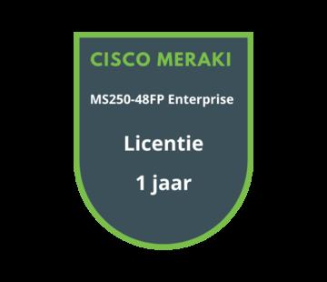 Cisco Meraki Cisco Meraki MS250-48FP Enterprise Licentie 1 jaar
