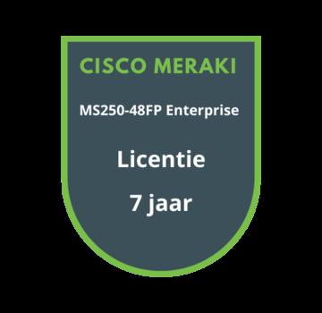 Cisco Meraki Cisco Meraki MS250-48FP Enterprise Licentie 7 jaar
