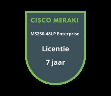 Cisco Meraki Cisco Meraki MS250-48LP Enterprise Licentie 7 jaar