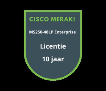 Cisco Meraki Cisco Meraki MS250-48LP Enterprise Licentie 10 jaar