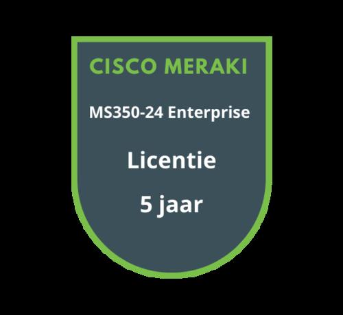 Cisco Meraki Cisco Meraki MS350-24 Enterprise Licentie 5 jaar