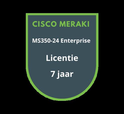 Cisco Meraki Cisco Meraki MS350-24 Enterprise Licentie 7 jaar
