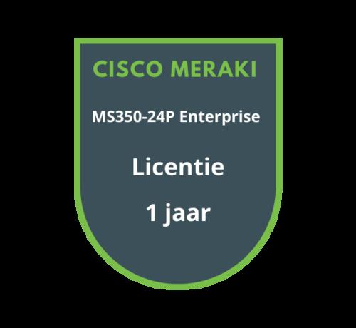 Cisco Meraki Cisco Meraki MS350-24P Enterprise Licentie 1 jaar