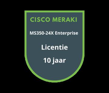 Cisco Meraki Cisco Meraki MS350-24X Enterprise Licentie 10 jaar