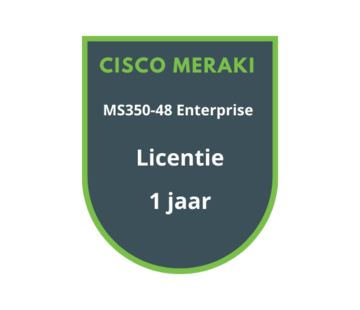 Cisco Meraki Cisco Meraki MS350-48 Enterprise Licentie 1 jaar
