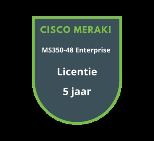 Cisco Meraki Cisco Meraki MS350-48 Enterprise Licentie 5 jaar