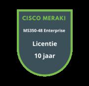 Cisco Meraki Cisco Meraki MS350-48 Enterprise Licentie 10 jaar
