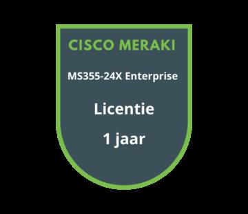 Cisco Meraki Cisco Meraki MS355-24X Enterprise Licentie 1 jaar