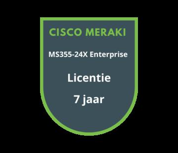 Cisco Meraki Cisco Meraki MS355-24X Enterprise Licentie 7 jaar