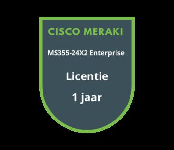 Cisco Meraki Cisco Meraki MS355-24X2 Enterprise Licentie 1 jaar