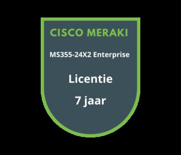 Cisco Meraki Cisco Meraki MS355-24X2 Enterprise Licentie 7 jaar