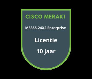 Cisco Meraki Cisco Meraki MS355-24X2 Enterprise Licentie 10 jaar