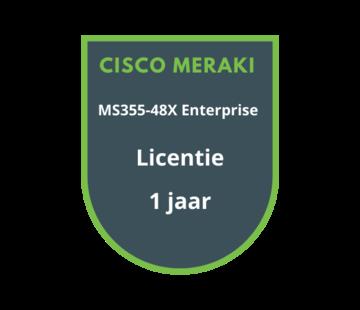 Cisco Meraki Cisco Meraki MS355-48X Enterprise Licentie 1 jaar