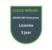 Cisco Meraki Cisco Meraki MS355-48X Enterprise Licentie 3 jaar