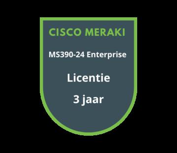 Cisco Meraki Cisco Meraki MS390-24 Enterprise Licentie 3 jaar