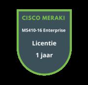 Cisco Meraki Cisco Meraki MS410-16 Enterprise Licentie 1 jaar