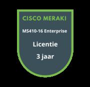 Cisco Meraki Cisco Meraki MS410-16 Enterprise Licentie 3 jaar