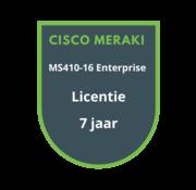 Cisco Meraki Cisco Meraki MS410-16 Enterprise Licentie 7 jaar