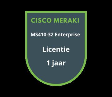 Cisco Meraki Cisco Meraki MS410-32 Enterprise Licentie 1 jaar