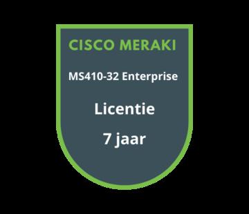 Cisco Meraki Cisco Meraki MS410-32 Enterprise Licentie 7 jaar
