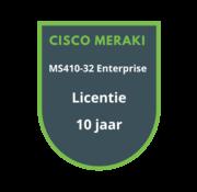 Cisco Meraki Cisco Meraki MS410-32 Enterprise Licentie 10 jaar