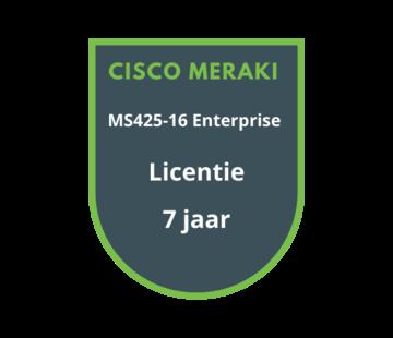 Cisco Meraki Cisco Meraki MS425-16 Enterprise Licentie 7 jaar