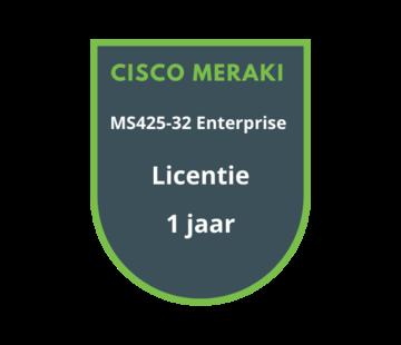 Cisco Meraki Cisco Meraki MS425-32 Enterprise Licentie 1 jaar
