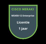 Cisco Meraki Cisco Meraki MS450-12 Enterprise Licentie 1 jaar