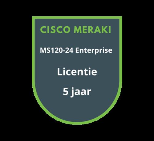 Cisco Meraki Cisco Meraki MS120-24 Enterprise Licentie 5 jaar