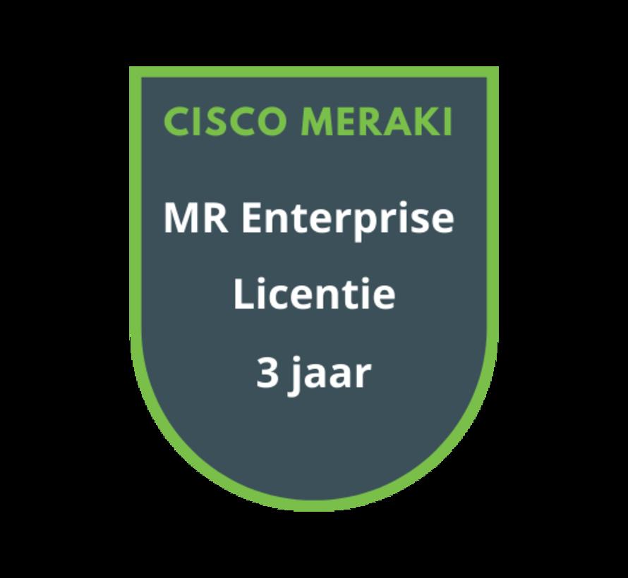 Cisco Meraki MR Enterprise Licentie 3 jaar
