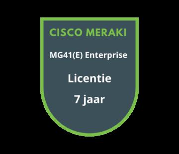 Cisco Meraki Cisco Meraki MG41(E) Enterprise Licentie 7 Jaar