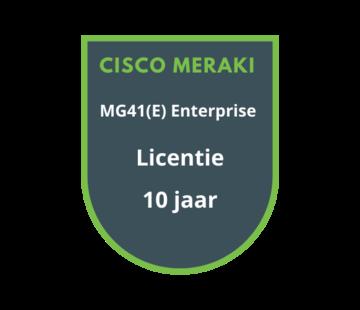 Cisco Meraki Cisco Meraki MG41(E) Enterprise Licentie 10 Jaar