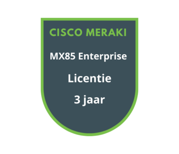 Cisco Meraki Cisco Meraki MX85 Enterprise Licentie 3 jaar