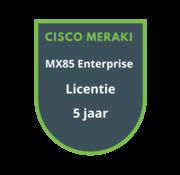 Cisco Meraki Cisco Meraki MX85 Enterprise Licentie 5 jaar
