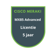 Cisco Meraki Cisco Meraki MX85 Advanced Licentie 5 jaar