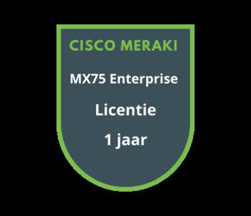 Cisco Meraki Cisco Meraki MX75 Enterprise Licentie 1 jaar