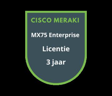 Cisco Meraki Cisco Meraki MX75 Enterprise Licentie 3 jaar