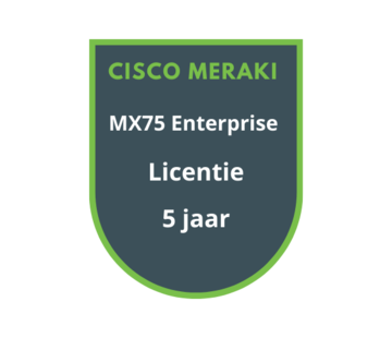 Cisco Meraki Cisco Meraki MX75 Enterprise Licentie 5 jaar