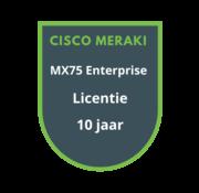 Cisco Meraki Cisco Meraki MX75 Enterprise Licentie 10 jaar