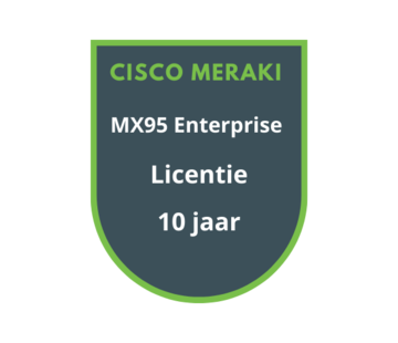Cisco Meraki Cisco Meraki MX95 Enterprise Licentie 10 jaar