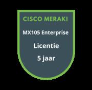 Cisco Meraki Cisco Meraki MX105 Enterprise Licentie 5 jaar