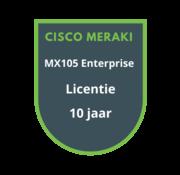 Cisco Meraki Cisco Meraki MX105 Enterprise Licentie 10 jaar