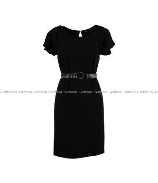 GUESS GUESS - kleedje PALOMA DRESS - W93K67WBTZ0JBLK