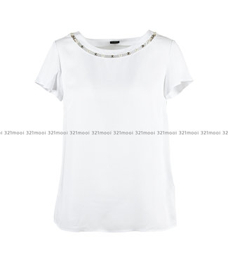 GUESS GUESS - SL MEDEA TOP TRUE WHITE - W93H71WAUK0TWHT