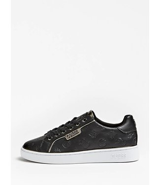 GUESS GUESS - sneaker BANQ/ACTIVE LADY/LEATHER LIKE - FL7BANELE12BLACK
